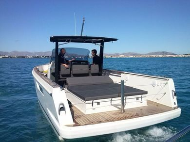 Rental motorboat Fjord 36 in Port de Alcudia - Majorca (Balearic Islands)