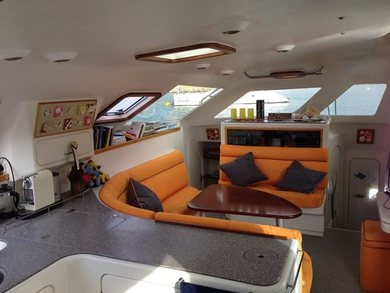 Rental catamaran Voyage 440 in Andratx - Majorca (Balearic Islands)