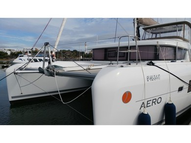 Hire catamaran Lagoon 42 in Sant Antoni de Portmany - Ibiza (Balearic Islands)