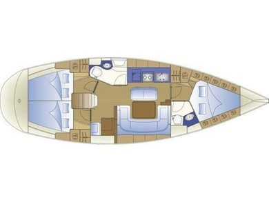 Charter sailboat Bavaria 40 Cruiser in Paros - Cyclades Islands