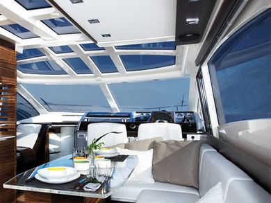 Charter luxury yacht Absolute 52 FLY in Barcelona city - Barcelona