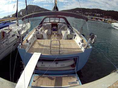 Rental sailboat Hanse 540e in Barcelona city - Barcelona