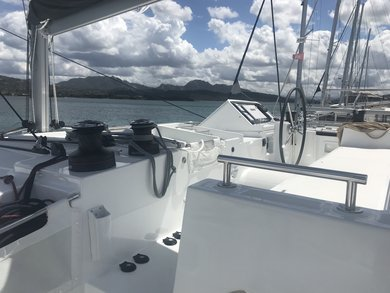 Charter catamaran Lagoon 450 in St. George city - St George