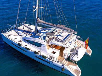 Rental catamaran Privilege 615 in Ibiza city - Ibiza (Balearic Islands)