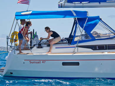 Charter sailboat Sunsail 47-3 in St. George city - St George