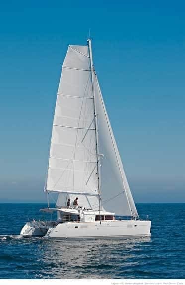 Hire catamaran Lagoon 450 in Tivat city - Tivat